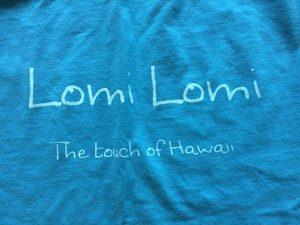 Lomi Shirt drucken